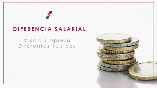 Análisis de diferencia salarial: misma empresa, distinto sueldo