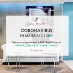 Coronavirus en materias de ERTE