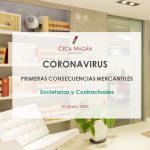 Coronavirus - Primeras consecuencias mercantiles
