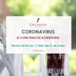 Coronavirus - Concurso de acreedores