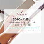 Coronavirus - Publicidad y patrocinios