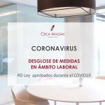 Medidas Laborales - Real Decreto Ley