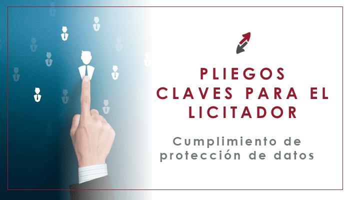 La protección de datos en la Contratación Pública: Claves para el licitador