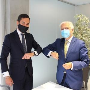 Ceca Magán firma un acuerdo con 50Pro para potenciar el emprendimiento de profesionales sénior