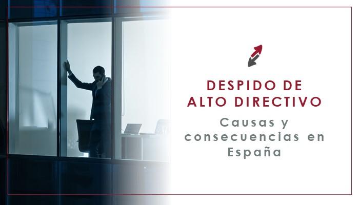 El despido del personal de Alta Dirección en España