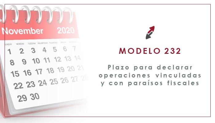El Modelo 232: Operaciones vinculadas y Paraísos Fiscales