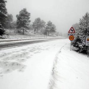 Obligar a ir al trabajo con nieve puede conllevar multas