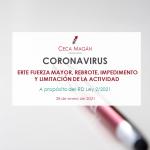 Portada Guía ERTE Fuerza mayor por coronavirus