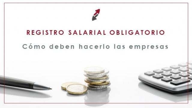 Cómo hacer el registro salarial obligatorio