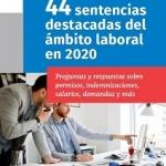 ebook 44 sentencias destacadas de ámbito laboral en 2020