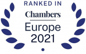 logo Ranked in Chambers Europe 2021 Ceca Magán