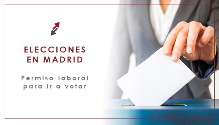 Permiso laboral para ir a votar: Elecciones en Madrid