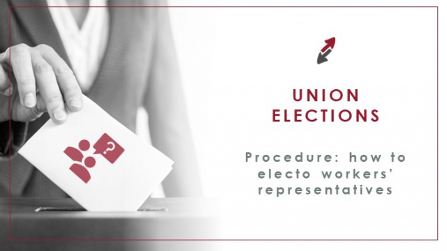 Procedure in union elections: How to elect workers' representatives in a company in Spain