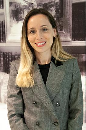 Inés García abogada del área tributario