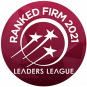 logo leaders league ranked firm in 2021