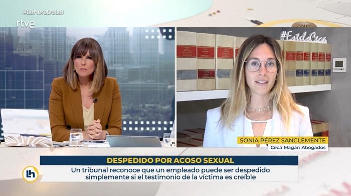 presunción de inocencia en los despidos por acoso sexual no aplica