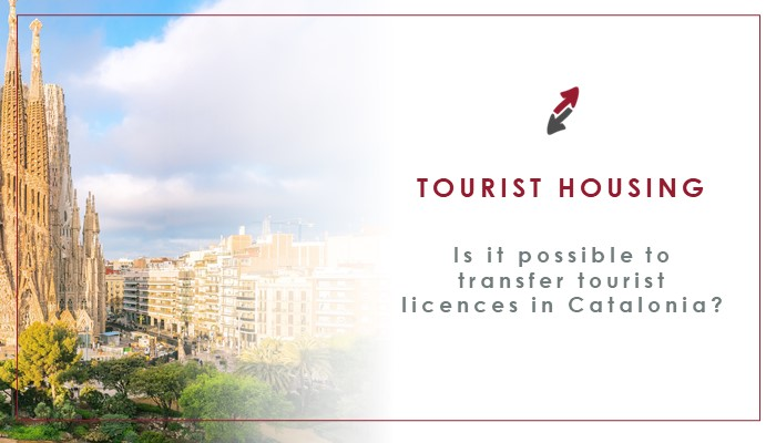 Is it possible to transfer tourist licences linked to tourist housing in Catalonia?