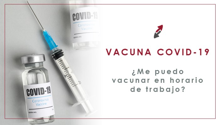 ¿Me puedo vacunar en horario de trabajo?