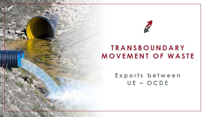 Transboundary movement of waste EU-OECD (Exports)