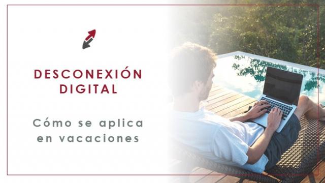 Desconexión digital en vacaciones