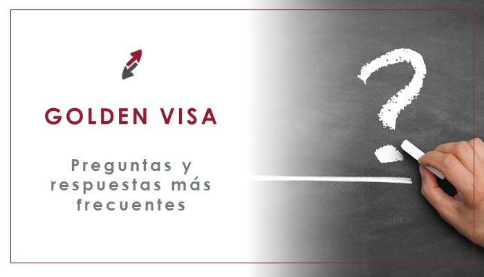 Dudas mas frecuentes sobre la Golden Visa
