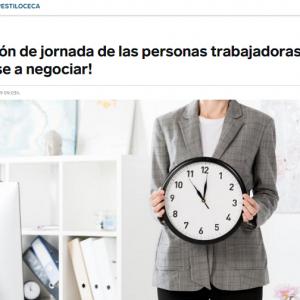 La adaptación de jornada de las personas trabajadoras