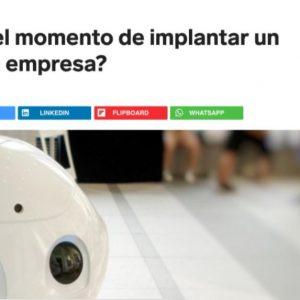 ¿Ha llegado el momento de implantar un Chatbot en la empresa?