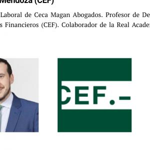 Alberto Novoa, entre los mejores profesores de Derecho 2019