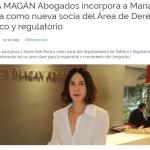 María José Rovira, nueva socia de Ceca Magán Abogados