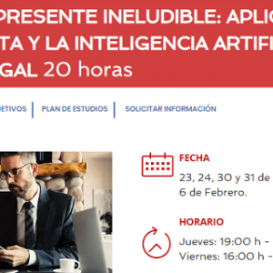 Ceca Magán y MBIT School lanzan un curso sobre el Big Data y la Inteligencia Artificial en el sector legal