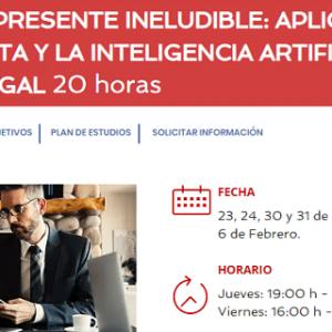 Ceca Magán y MBIT School lanzan un curso sobre el Big Data y la Inteligencia Artificial en el sector legal