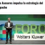 Alberto Novoa participa en el 'Foro Asesores' de Wolters Kluwer