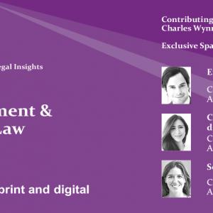 Ceca Magán participa en la publicación de Global Legal Insights
