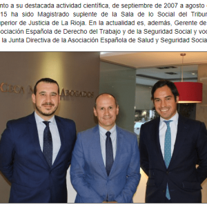 Ceca Magán incorpora a Guillermo Barrios como Of Counsel de Laboral