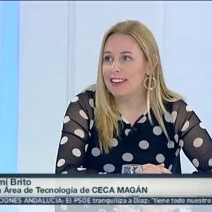 Noemí Brito interviene en Radio Televisión Canaria hablando sobre la LOPDGDD