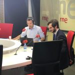 Puy Abril interviene en el programa radiofónico 'Es Noticia' de esRadio
