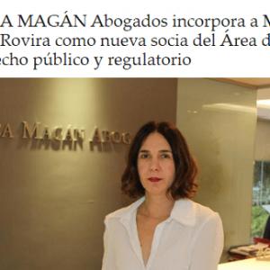 Ceca Magán ficha a María José Rovira como nueva socia