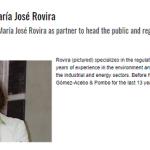 Ceca Magán ficha a María José Rovira como socia del área de Público y Regulatorio