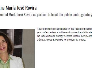 María José Rovira se une al equipo de Ceca Magán Abogados