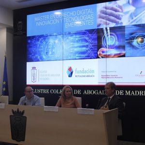 El ICAM inaugura el Máster en Derecho Digital