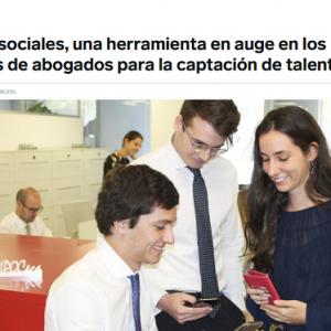 Las redes sociales, aliadas de los despachos de abogados para captar talento