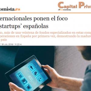 Los fondos internacionales ponen el foco  en las startups españolas
