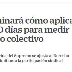 El TJUE examinará cómo aplica España los 90 días del despido colectivo