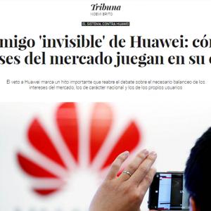 El enemigo 'invisible' de Huawei: cómo los intereses del mercado juegan en su contra