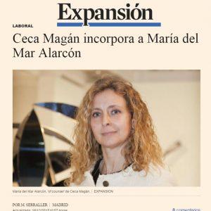 Ceca Magán incorpora a María del Mar Alarcón Castellanos