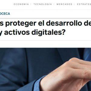 ¿Cómo debes proteger el desarrollo de tu aplicación informática y activos digitales?