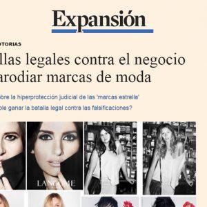 Batallas legales contra el negocio de parodiar marcas de moda