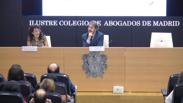 Silvia Quiles interviene en jornada del ICAM: delitos contra los derechos de los trabajadores