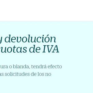 Brexit y devolución de las cuotas del IVA
