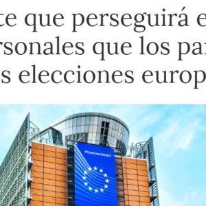 Bruselas perseguirá el uso irregular de datos personales en las elecciones europeas